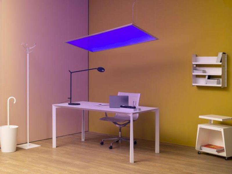 Reinigendes Licht: Leuchten, die den Raum desinfizieren