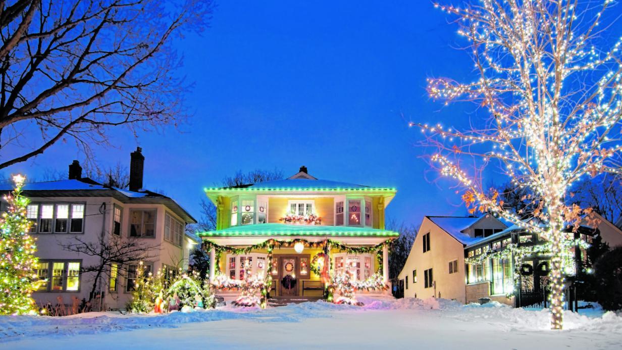 Blinkende Weihnachten: Was dürfen Nachbarn beleuchten?